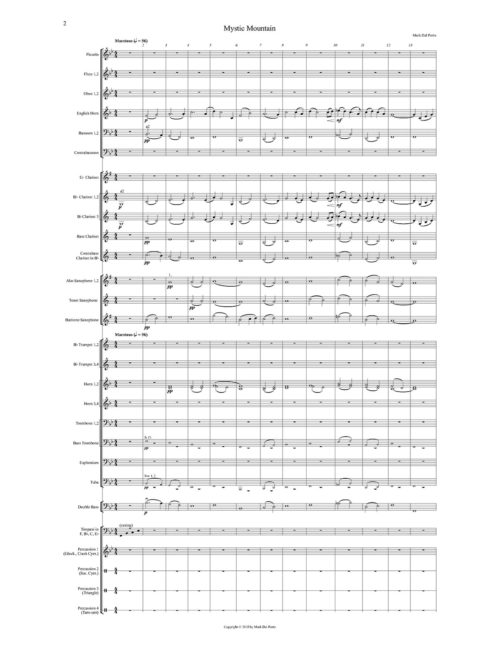 Mystic Mount for Concert Band Product
