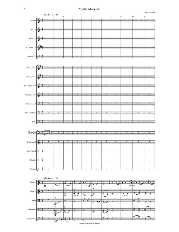 Mystic Mountain For Orchestra